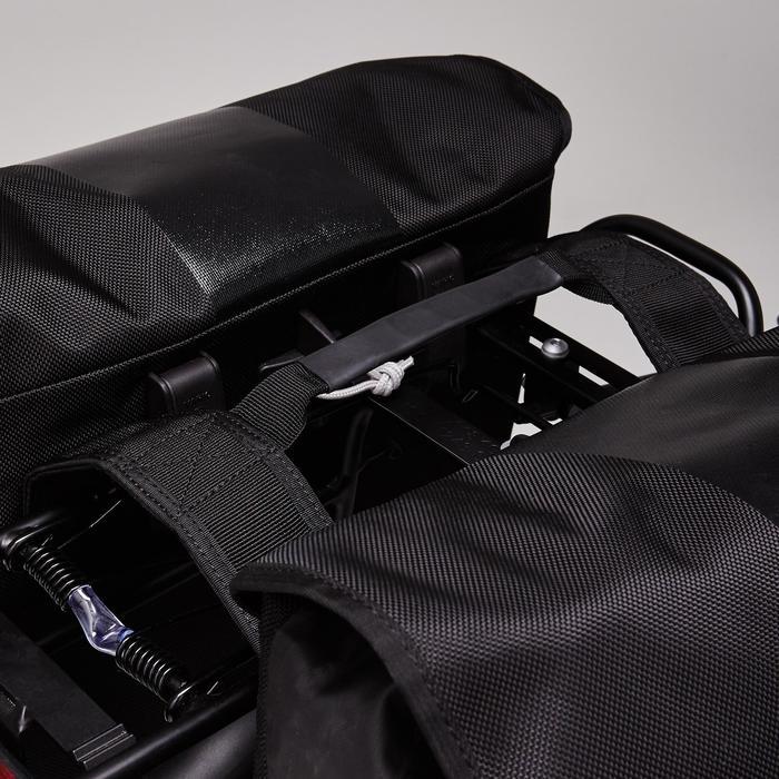 Doppel-Fahrradtasche 540 2 x 20 Liter wasserdicht für Gepäckträger