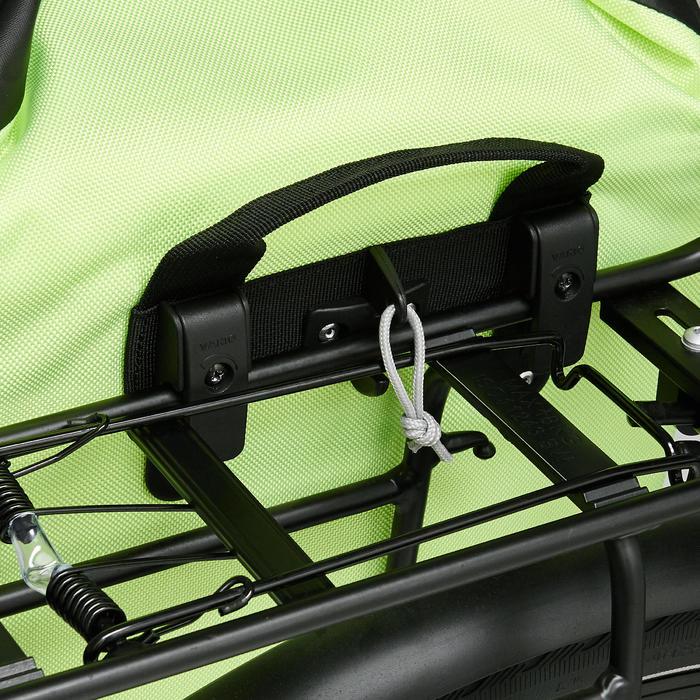 Fietstas 500 20 liter voor bagagedrager waterdicht - 1515411