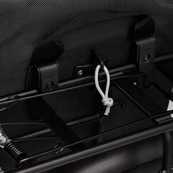 Fahrradtasche Gepäcktasche Trekking Bike Bag 500 wasserdicht 20 Liter schwarz