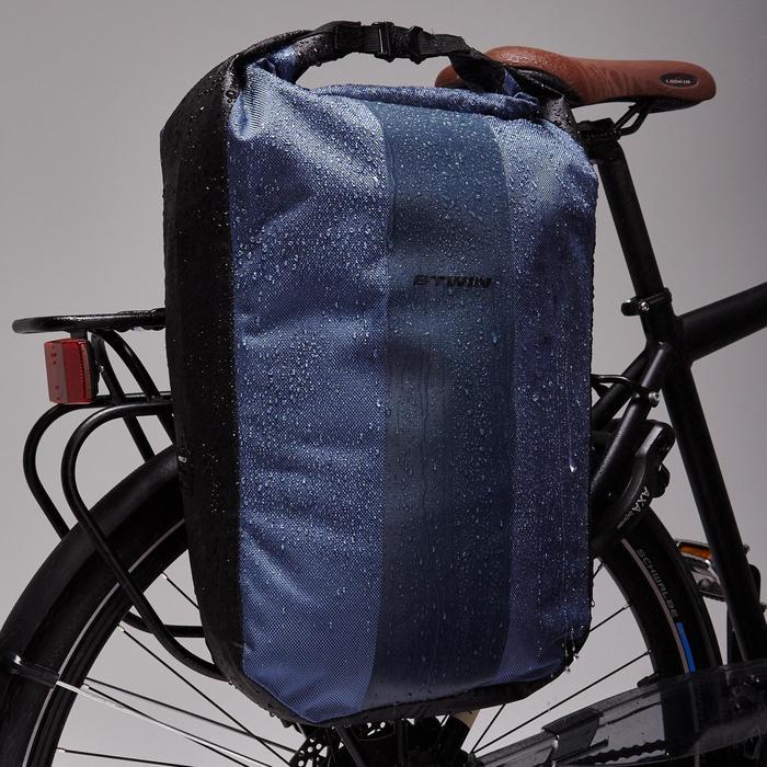 Fietstas 500 20 liter voor bagagedrager waterdicht - 1515418