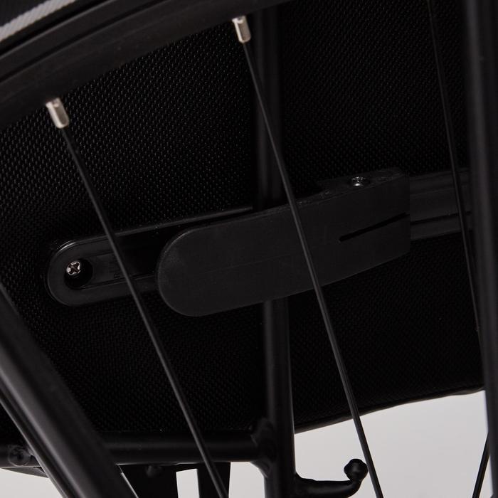 Doppel-Fahrradtasche Gepäcktasche 540 2 x 20 Liter wasserdicht schwarz