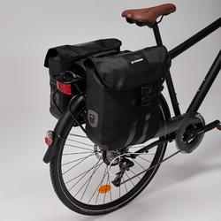 Dubbele waterdichte fietstas 540 2x20 l voor bagagedrager