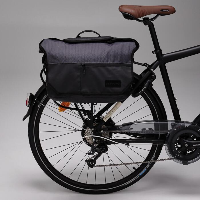 Fahrradtasche Businessbag 500 15l schwarz/grau