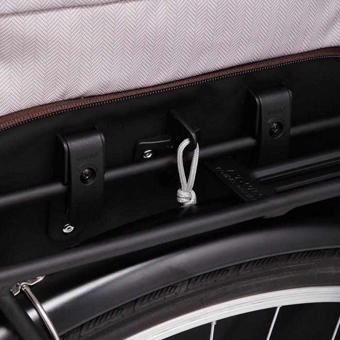 Fahrradtasche Einkaufstasche 500 15Liter