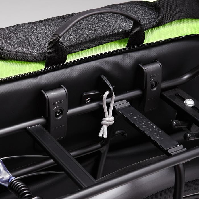Fahrradtasche Business Bag 500 15Liter schwarz/gelb