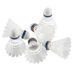 Badmintonshuttles Mavis 2000 6 stuks wit