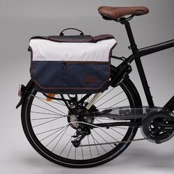 Fahrradtasche Businessbag 500 15l blau/beige