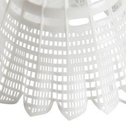 Badminton shuttle Mavis 2000 wit 6 stuks - 151547