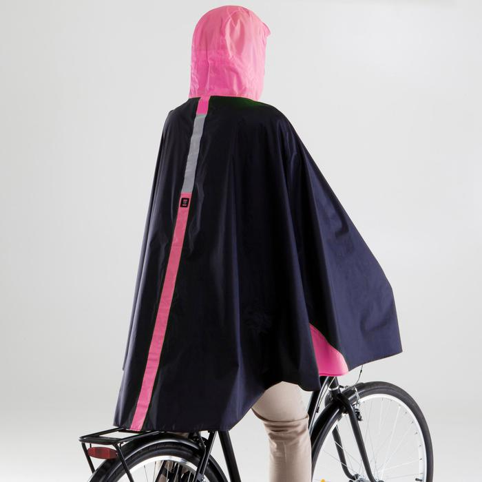 fahrrad regenponcho 500 neongelb b 39 twin decathlon. Black Bedroom Furniture Sets. Home Design Ideas