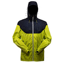 Inshore 100 Men's Waterproof Sailing Jacket - Grey Orange