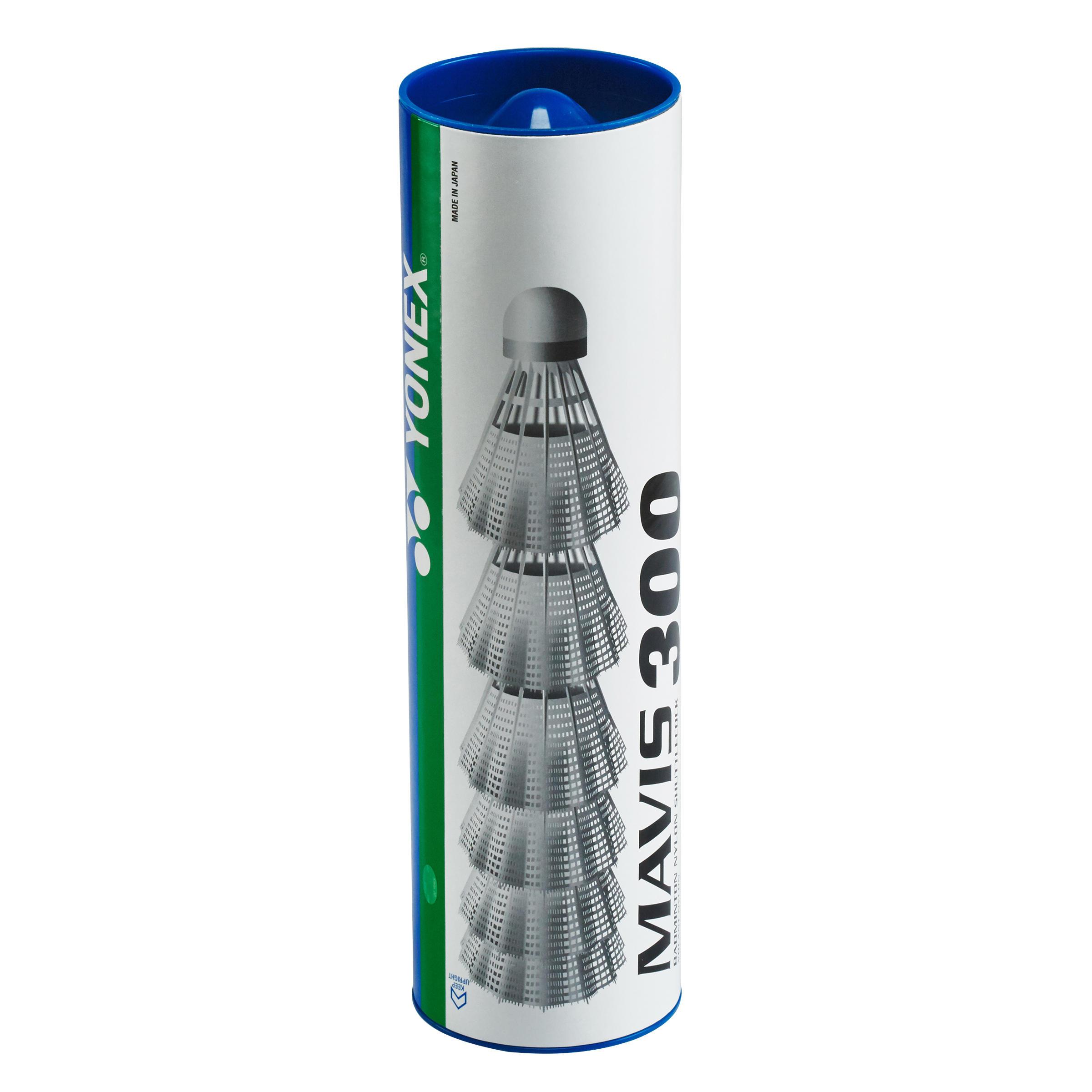 Yonex Badminton shuttle Mavis 300 wit 6 stuks