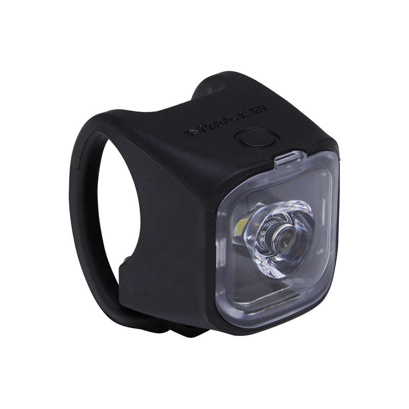 BIKE LIGHTS Cycling - Vioo 500 Front/Rear USB LED bike Light - Black ELOPS - Bike Accessories