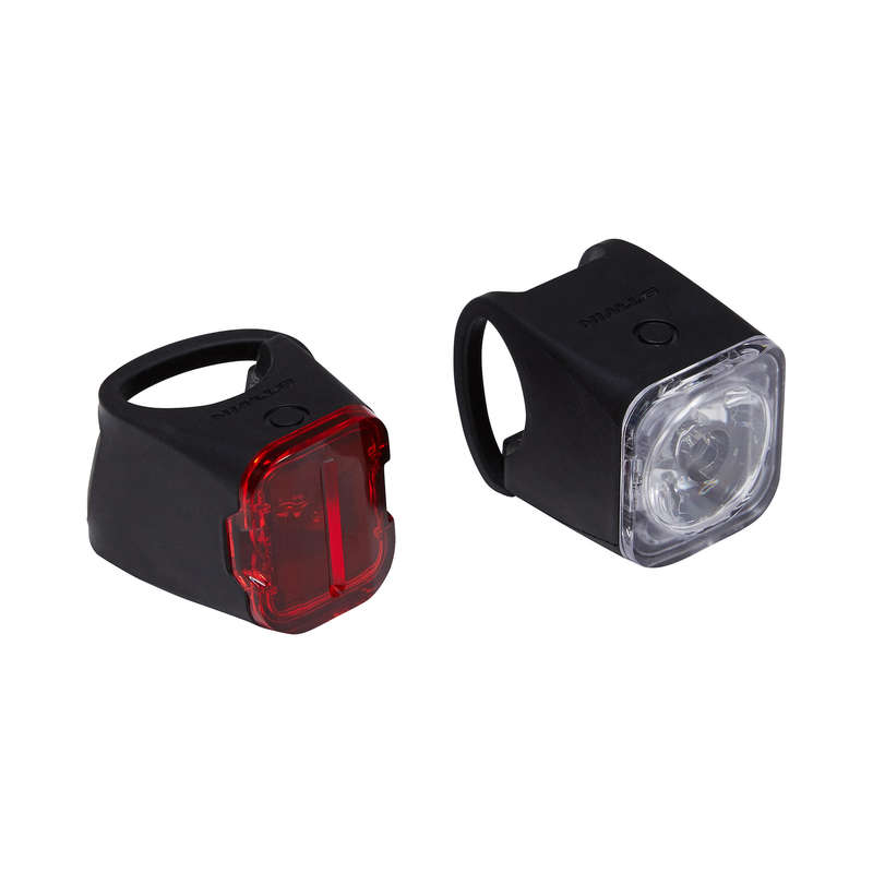 BIKE LIGHTS - Vioo 500 USB LED Bike Light Set B'TWIN