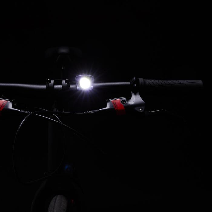 Fietsverlichting set op LED ST 520 voor/achter zwart USB