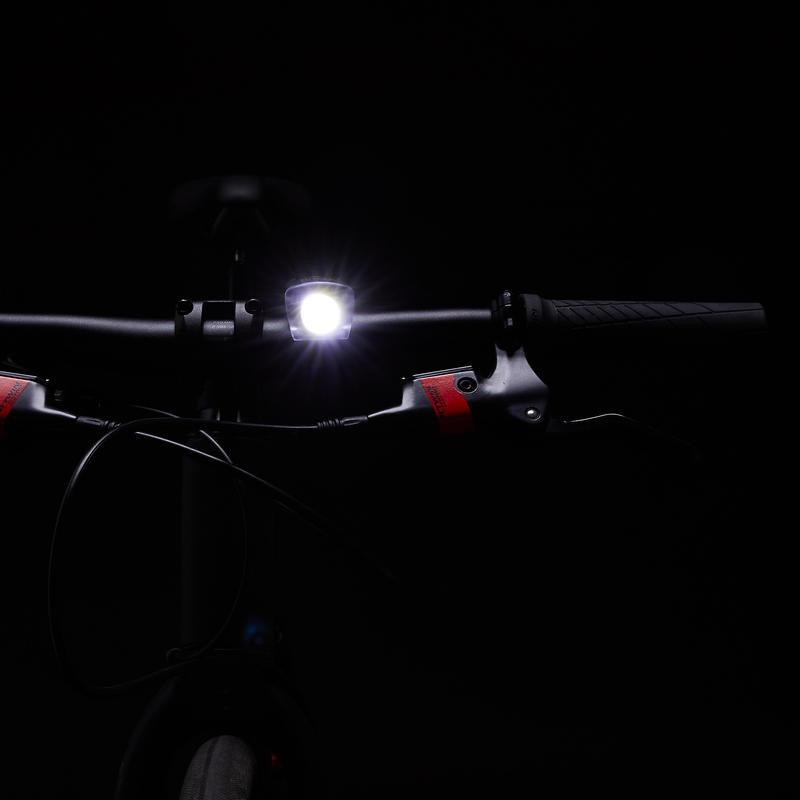 ชุดไฟหน้า/ท้าย LED รุ่น SL 520 ชาร์จไฟผ่าน USB ได้ (สีดำ)