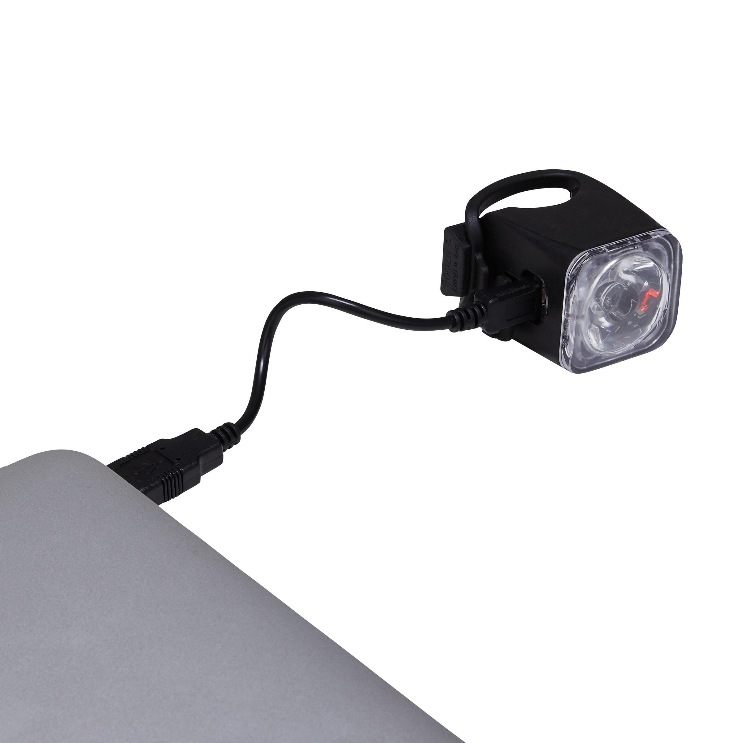 ÉCLAIRAGE VÉLO DEL FL 500 AVANT USB