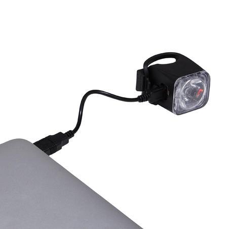 """Priekinis USB LED dviračio žibintas """"FL 500"""""""