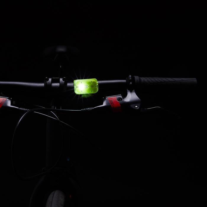 ALUMBRADO BICICLETA LED VIOO CLIP 500 DELANTERO/TRASERO AZUL USB