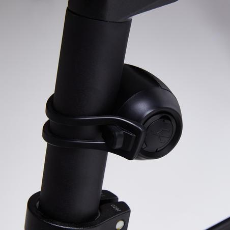 KIT LUCES BICICLETA ST 520 DELANTERO / TRASERO NEGRO CARGA USB