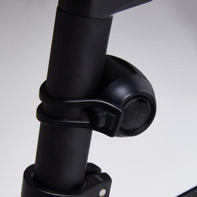 KIT LUCES BICICLETA ST 520 DELANTERAS / TRASERAS NEGRO CARGA USB