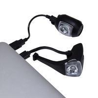 ST 520 Front/Rear LED USB Bike Light Set - Black