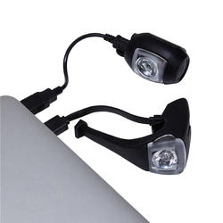 ST 520 Front/Rear LED USB Bike Light Set - Black