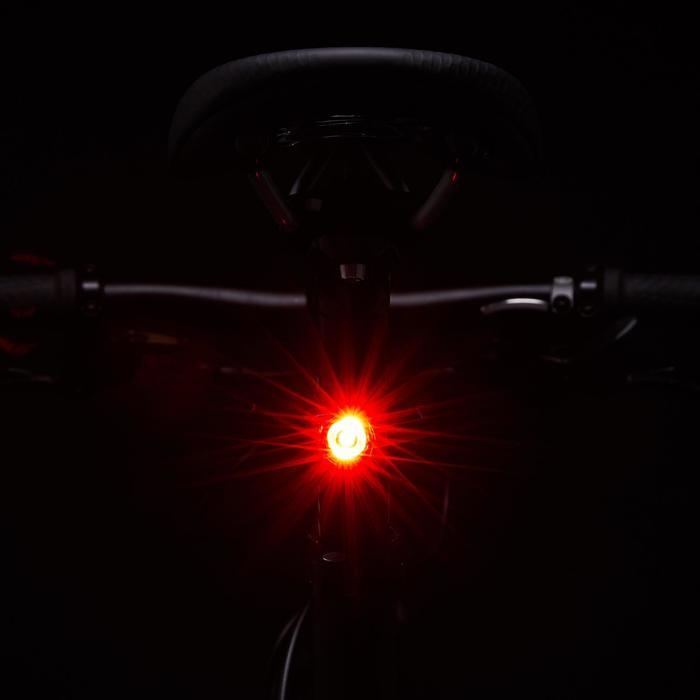 ST 520 USB Front/Rear LED Bike Light Set