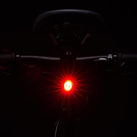 ST 520 Front/Rear LED USB Bike Light Set Black