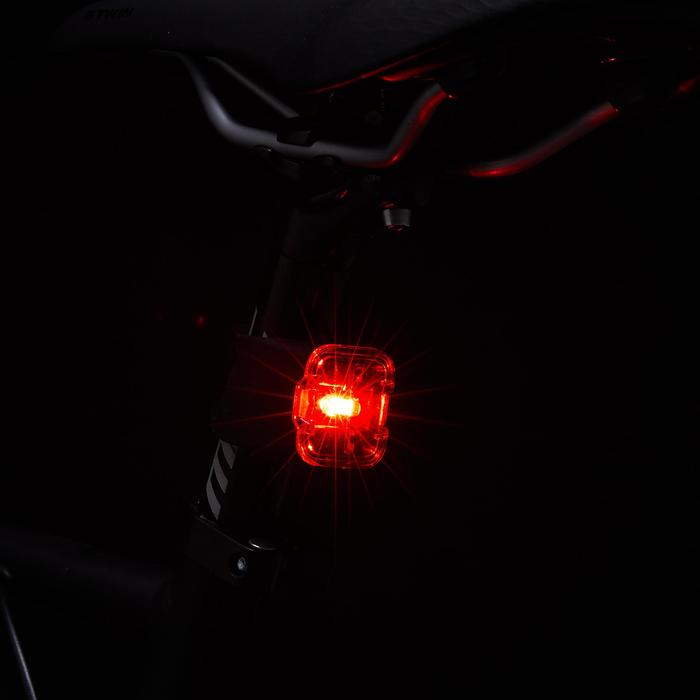 LUZ LED BICICLETA VIOO ROAD 500 KIT DELANTERO Y TRASERO USB