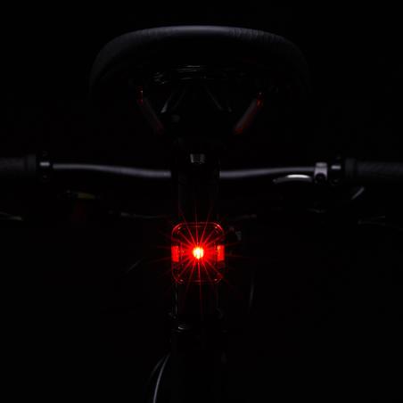 Priekšējā/aizmugurējā LED veloluktura komplekts 540 ST, USB