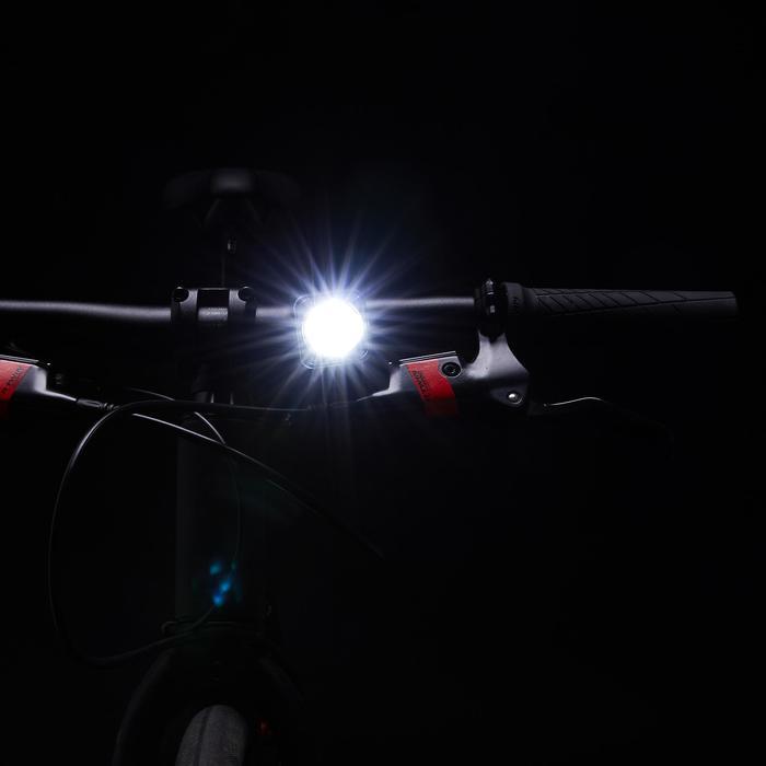 Fahrradbeleuchtung Frontlicht FL 500 LED USB 10 Lux schwarz