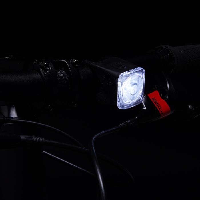 Fahrradbeleuchtung Set Front-/Rücklicht ST 540 LED USB 10 Lux schwarz