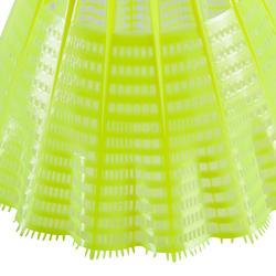Badmintonshuttles Mavis 300 geel set van 6 - 151568
