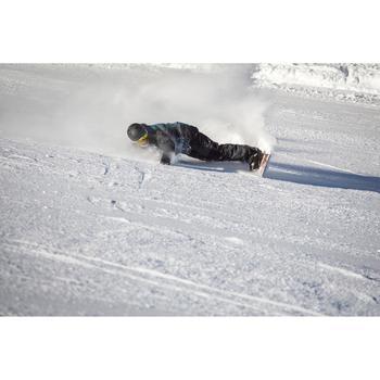 Plaque de rehausse pour fixation de snowboard, carving booster, noir.