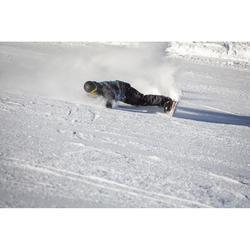 Snowboardhose Latzhose SNB BIB 900 Herren schwarz