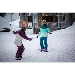 Snowboard- en skibroek voor dames SNB PA 100 donker petrol