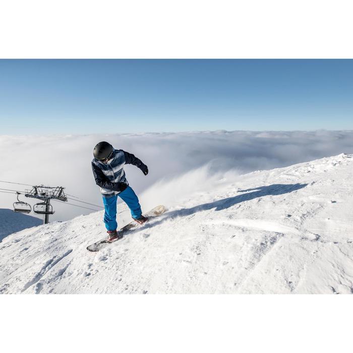 Fixations de snowboard homme et femme Illusion 400 noires - 1515855