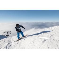 Snowboard pista y all mountain, hombre, Allroad 100 negro, madera y rojo