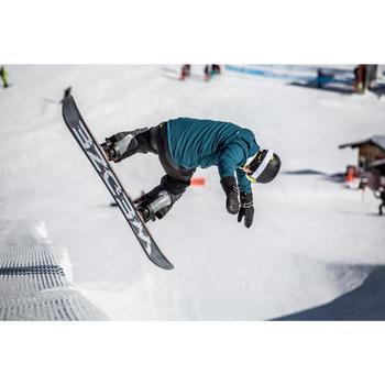 Veste de coach snowboard et ski SNB CJKT homme pétrole