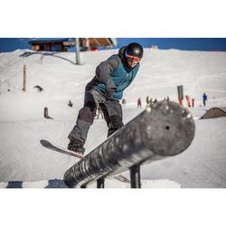 Chaqueta snowboard y esquí hombre SNB JKT 900 azul petróleo