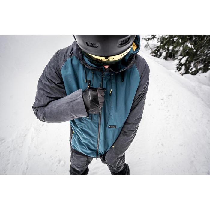 Men's Snowboarding (and skiing) jacket SNB JKT 900 - Petrol