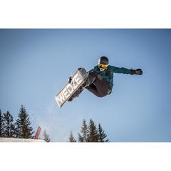 Veste de coach snowboard (et ski) SNB CJKT Homme pétrole