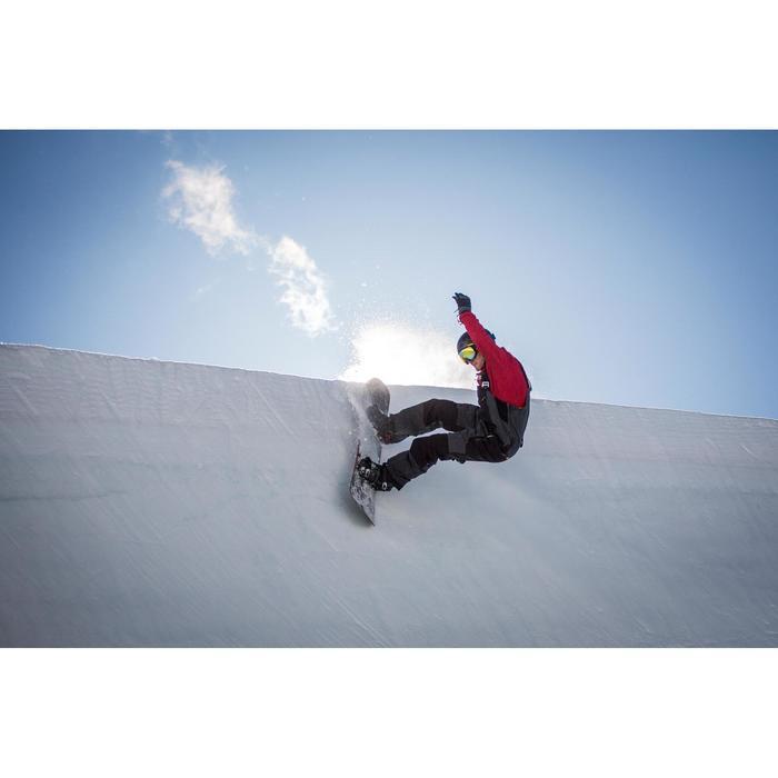 Chaqueta de coach snowboard y esquí SNB CJKT hombre burdeos