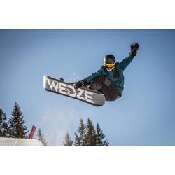 Salopette de snowboard et de ski Homme SNB BIB 900 Noir