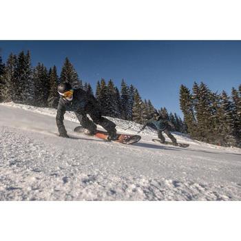 Snowboardbindingen Illusion 700 voor heren en dames zwart en grijs