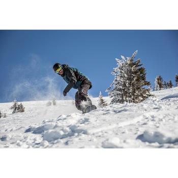 Peto snowboard y esquí SNB BIB 900 hombre negro