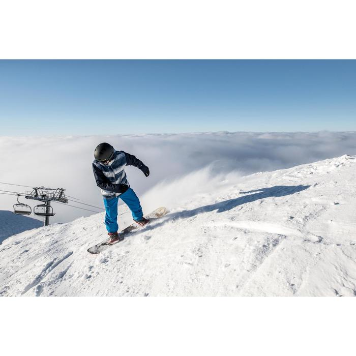 Pantalón snowboard y esquí hombre SNB PA 100 azul