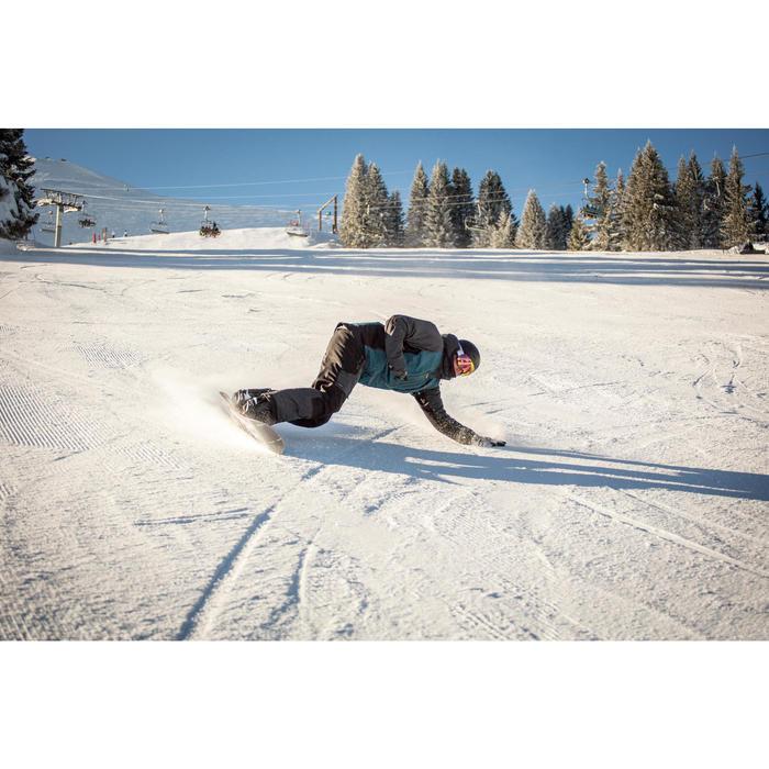 Casco de snowboard y de esquí adulto y junior H-FS 300 negro