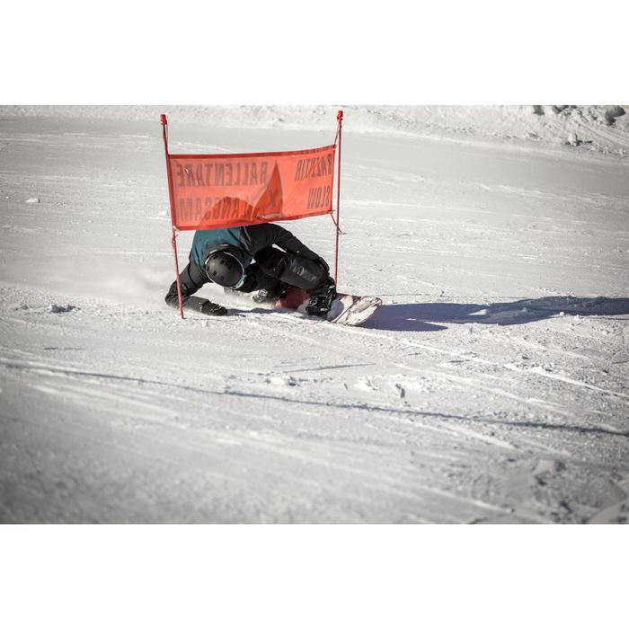 Snowboard- en skibroek met bretels SNB BIB 900 heren zwart