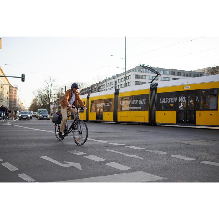 Stadsfiets voor lange afstanden Hoprider 100 laag frame